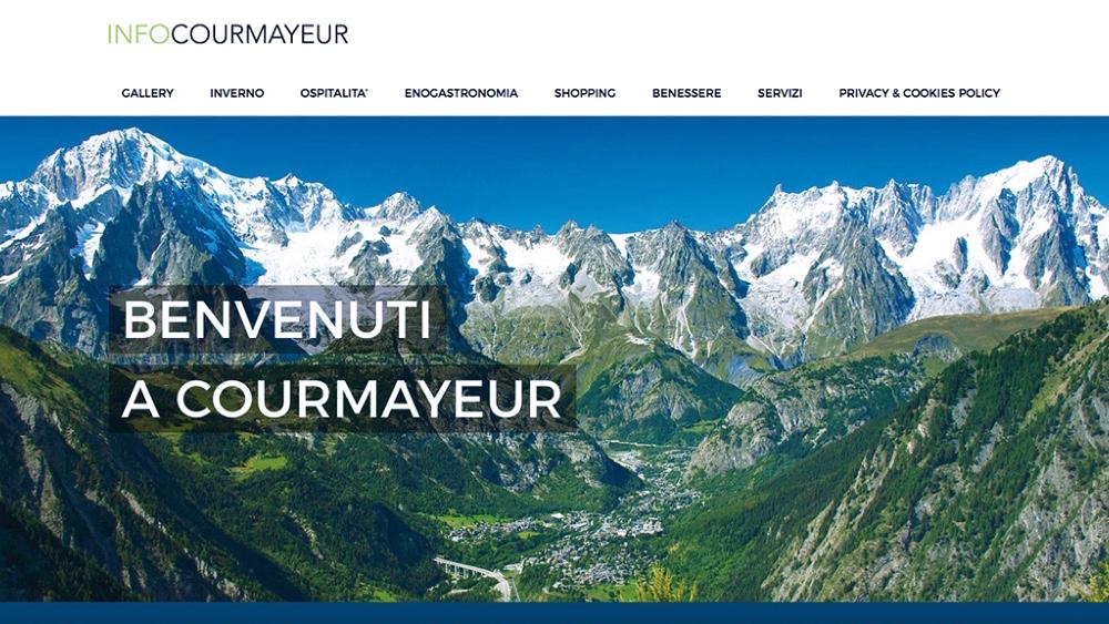 InfoCourmayeur.com, portale turistico dedicato a Courmayeur dà la possibilità di avere una vetrina virtuale: Foto, un breve testo, indirizzo E-mail, numero di telefono e indirizzo attivi, mappa Google e altro in base alla richiesta del cliente