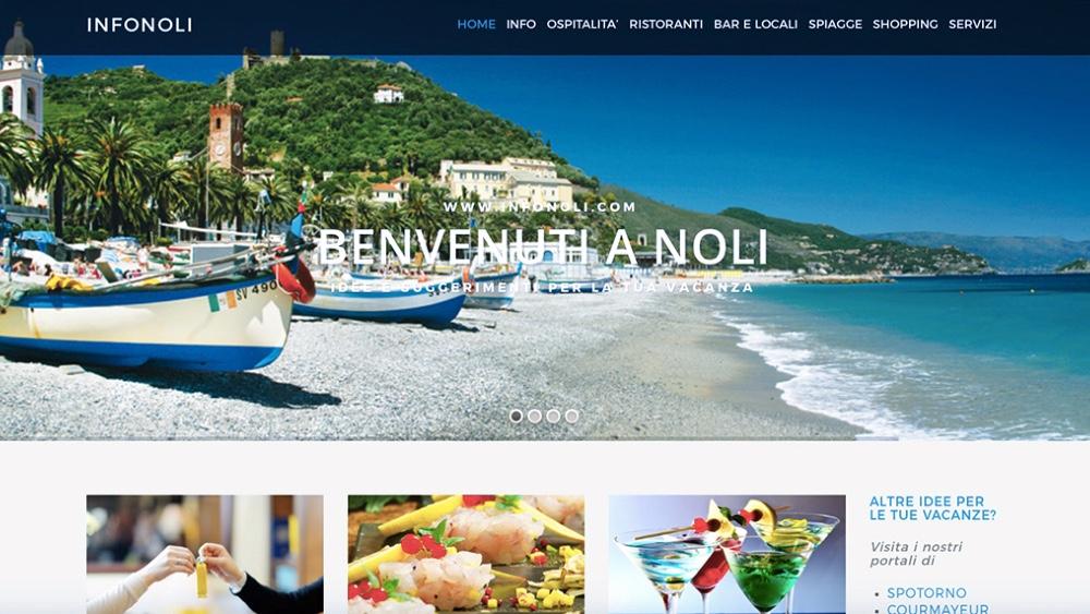 InfoNoli.com, portale turistico dedicato a Noli, dà la possibilità di avere una vetrina virtuale: Foto, un breve testo, indirizzo E-mail, numero di telefono e indirizzo attivi, mappa Google e altro in base alla richiesta del cliente