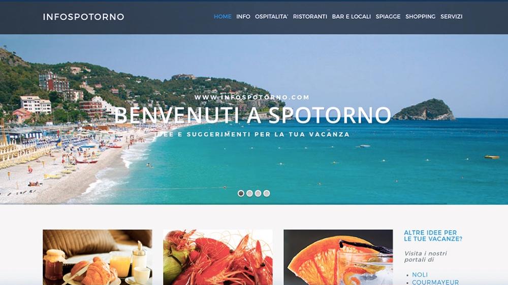 InfoSpotorno.com, portale turistico dedicato a Spotorno dà la possibilità di avere una vetrina virtuale: Foto, un breve testo, indirizzo E-mail, numero di telefono e indirizzo attivi, mappa Google e altro in base alla richiesta del cliente